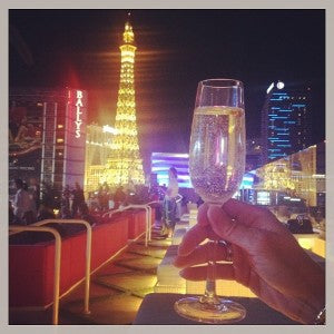 Our view of the Vegas Strip while attending our recent jewelry shows.
