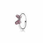 Pandora 60 Minnie's Sparkling Bow ring in Sterling Silver size 9, 190956CZR-60