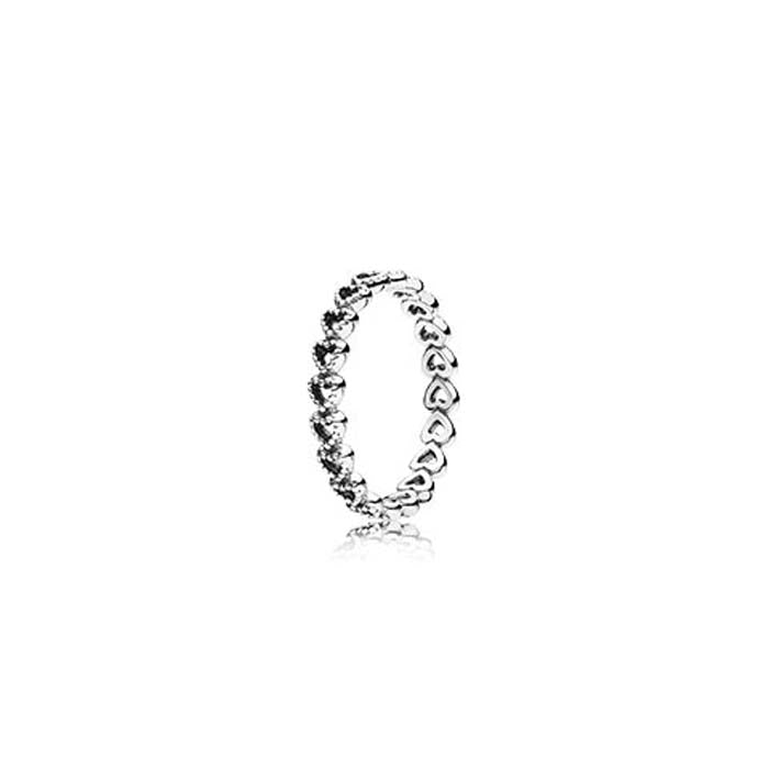 Pandora Linked Love Ring in Sterling Silver, 190980-54
