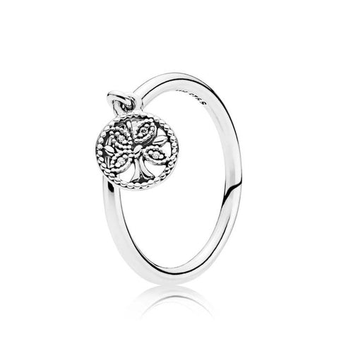 Pandora Tree of Life Ring Sterling Silver 197782CZ-54