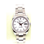 Pre-Owned Rolex 34MM Oyster Perpetual Datejust M115234-0003