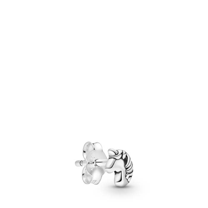 "Pandora Me ""My Magical Unicorn"" Single Stud Earring in Sterling Silver - 298535C00"