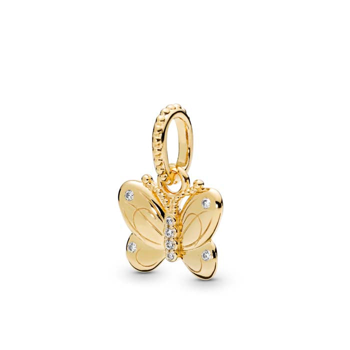 Pandora Shine Decorative Butterfly Pendant with CZ 368721C01