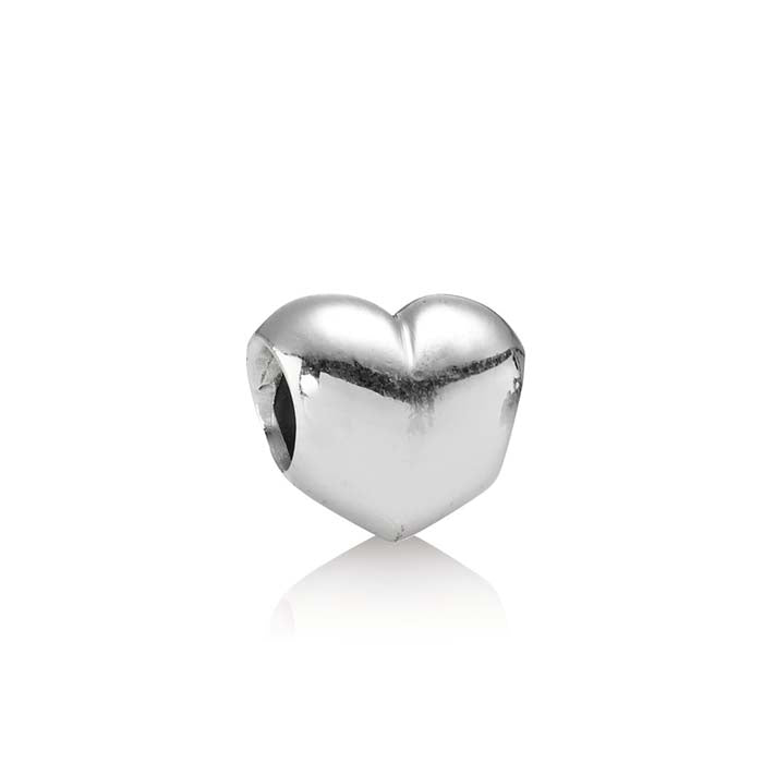Pandora Big Smooth Heart Charm Sterling Silver 790137