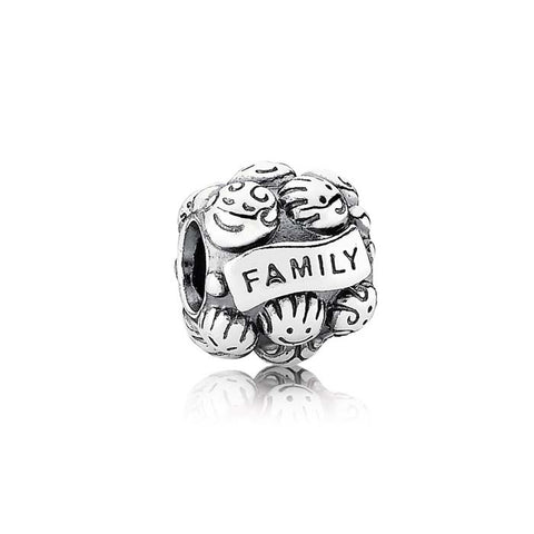 Pandora Love & Family Charm Sterling Silver 791039