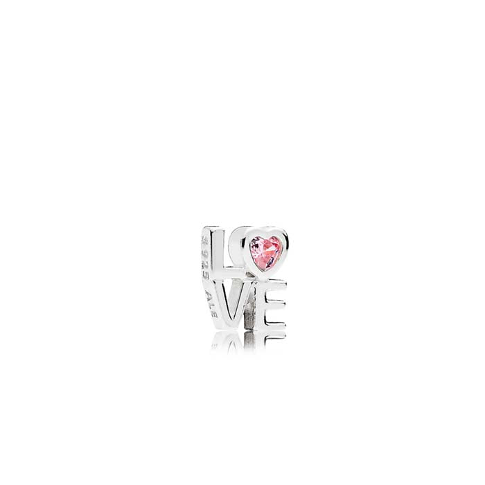 Pandora Love petite element in sterling silver 792161PCZ
