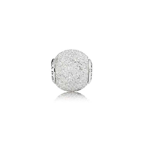 Pandora WISDOM Essence Charm- Sterling Silver with diamond-point texture 796016