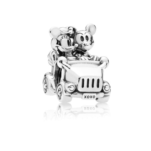 Pandora Disney Mickey & Minnie Vintage Car Charm Sterling Silver 797174