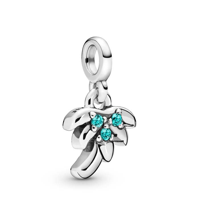 "Pandora Me ""My Palm Tree"" Dangle Charm in Sterling Silver - 798385NAG"