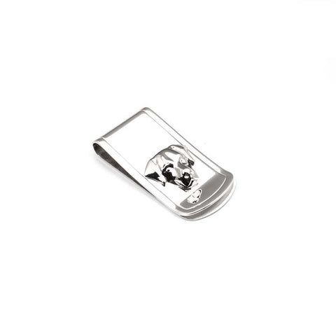 Dog Fever Labrador Retriever Money Clip in Sterling Silver