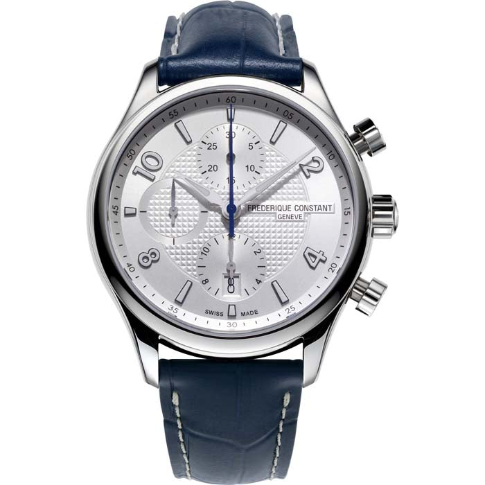 Frederique Constant 42MM Runabout Chronograph Automatic Watch in Stainless Steel