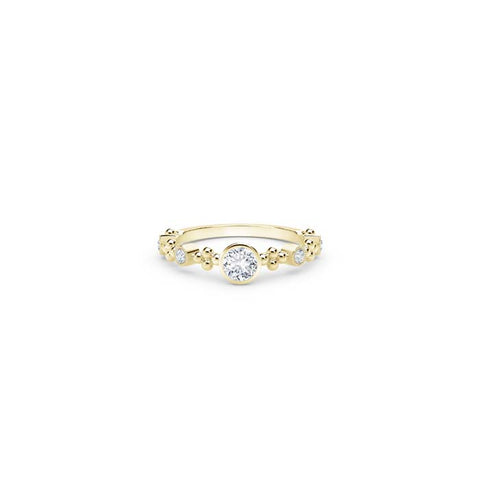 Natalie K Bezel Forevermark 18K Yellow Gold Diamond Ring