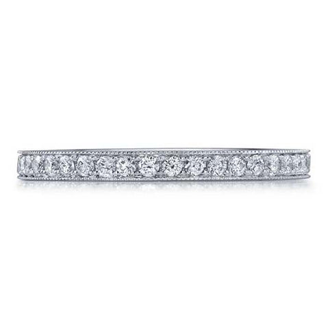Mountz Collection .12CTW Micro Set Pave Diamond Band in 14K White Gold