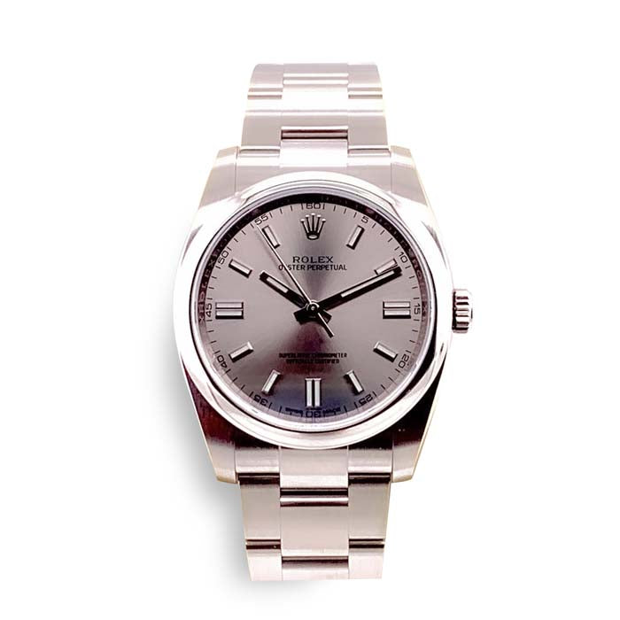 Pre-Owned Rolex 36MM Oyster Perpetual Rolex Watch in Stainless Steel M11600-0009/70200