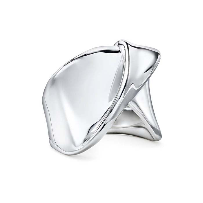 Ippolita Classico Collection Sterling Silver Folded Ribbon Ring
