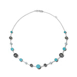 Ippolita Lollipop Lollitini Sterling Silver Short Maritime Necklace