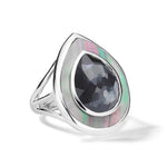 Ippolita Ondine Teardrop Ring in Sterling Silver
