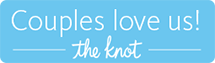 The Knot couples wedding registry logo