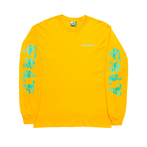 Yellow Artifakt Longsleeve Shirt