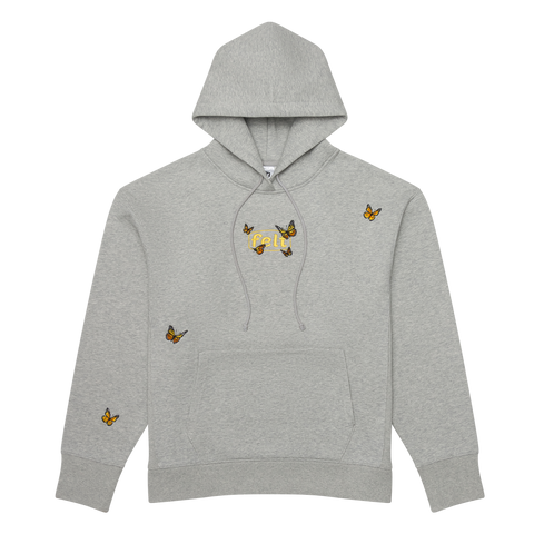 Grey Butterfly Sweatshirt