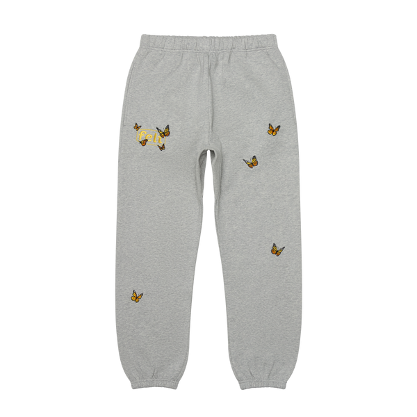 Grey Butterfly Sweatpant