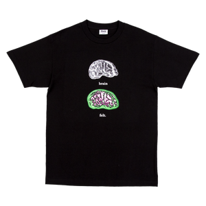 Black Brain On Drugs T-Shirt