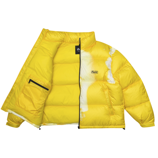 Yellow MEG Bubble Jacket