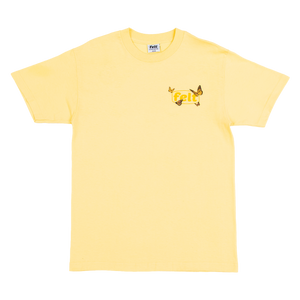 Butter Butterfly Work Logo T-Shirt