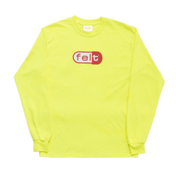 SAFETY GREEN DISCO BISCUIT LONG SLEEVE