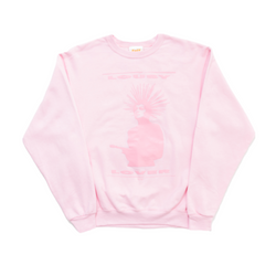 PINK LOUSY LOVER CREWNECK