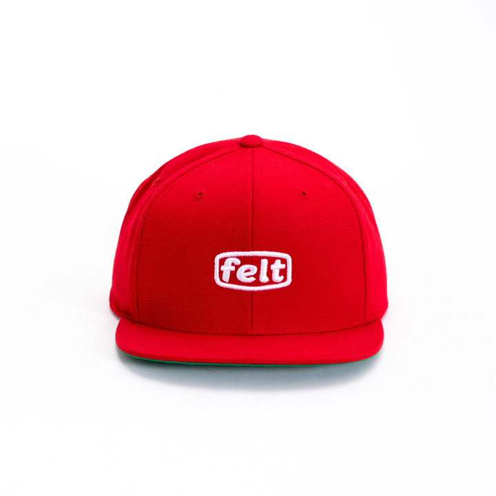 RED WORK LOGO HAT