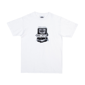 White Dial Up T-Shirt