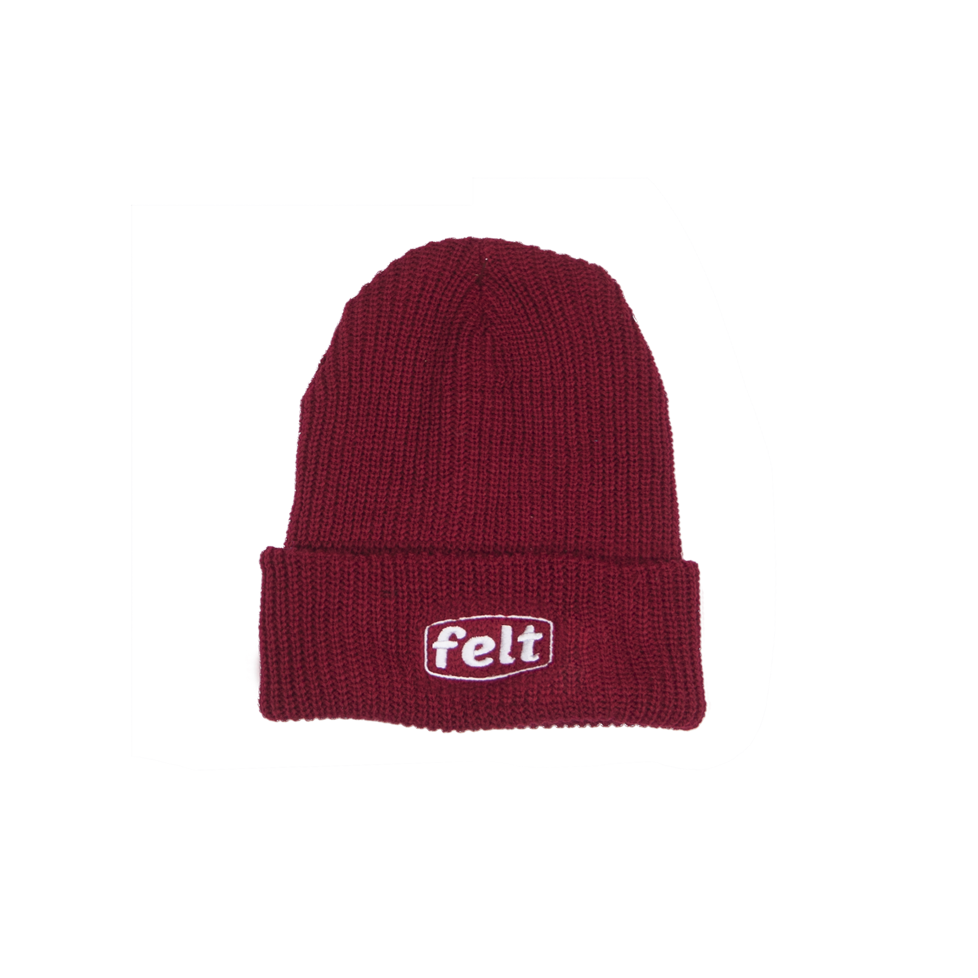 RED WORK BEANIE