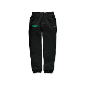 Black Warm Up Sweatpant