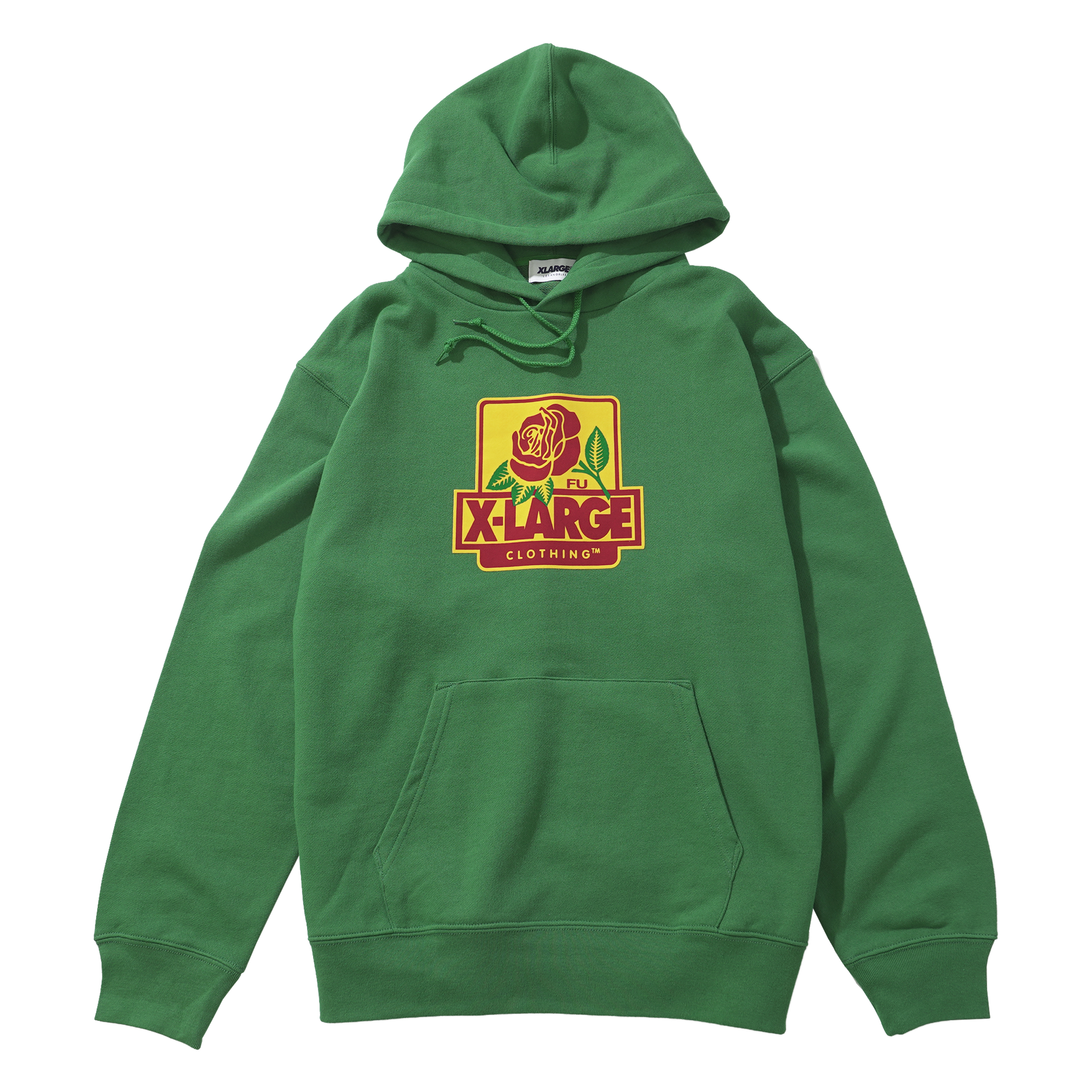 Green Rose Party Sweatshirt