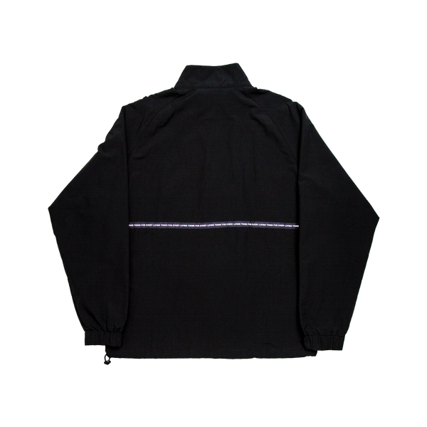 Black Lurk Half Zip Jacket