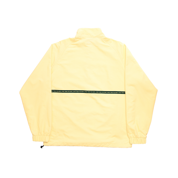 Yellow Lurk Half Zip Jacket
