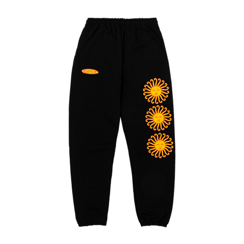 SUN SWEATPANTS BLACK
