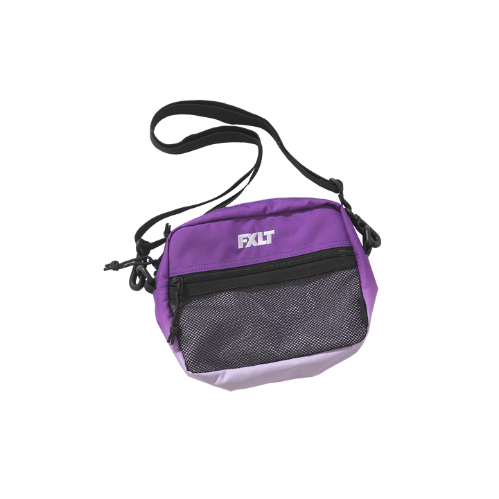 Purple Dip Dyed Shoulder Bag
