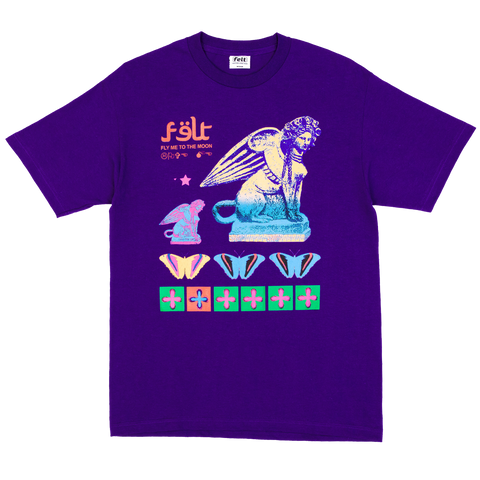 Purple To The Moon T-Shirt