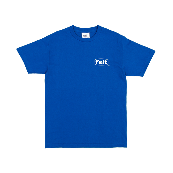Blue Work Logo T-Shirt