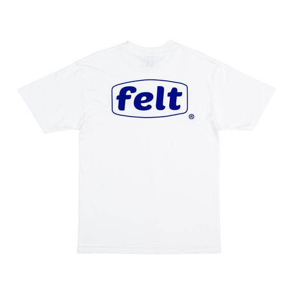 White Work Logo T-Shirt