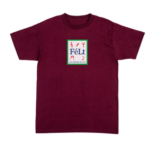 Bar T-Shirt Maroon