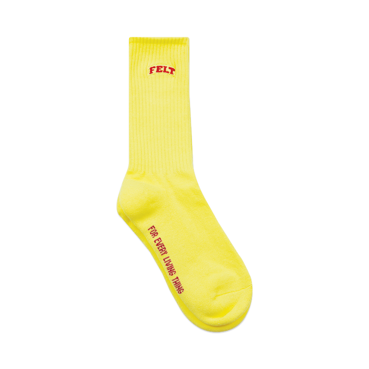 YELLOW EVERYDAY FELT SOCKS