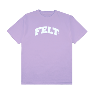LILAC FLOCKING ARCH T-SHIRT