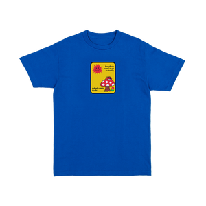 Deep Quote T-Shirt Blue