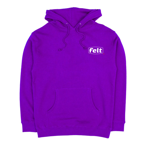 Purple Work Logo Sweatshirt