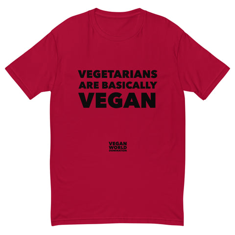 Vegetarians Are Basically Vegan