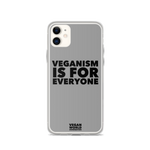 Veganism Is For Everyone iPhone Case (all sizes)
