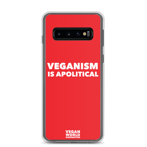 Veganism Is Apolitical Samsung Galaxy Case (all sizes)